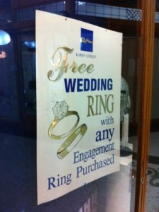 free wedding bands Sydney
