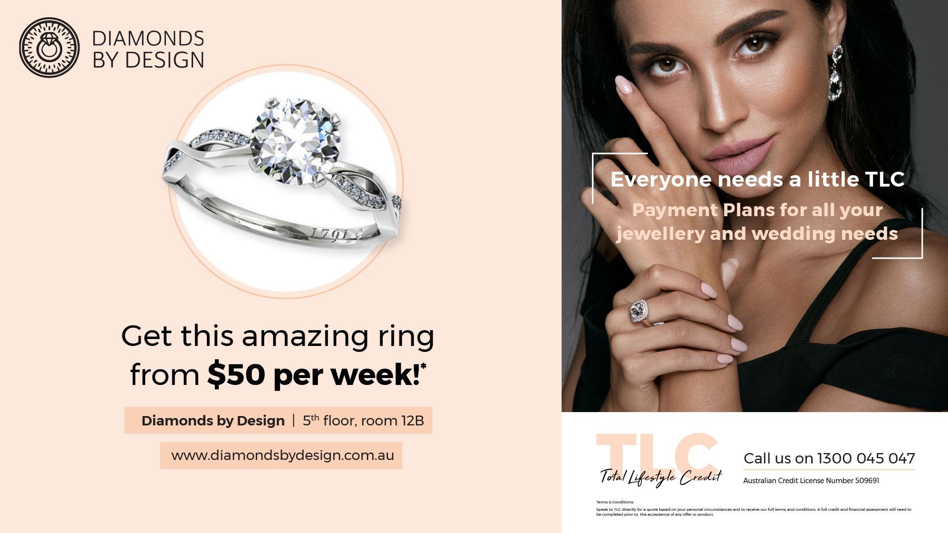 Get amazing rings for $50 per week